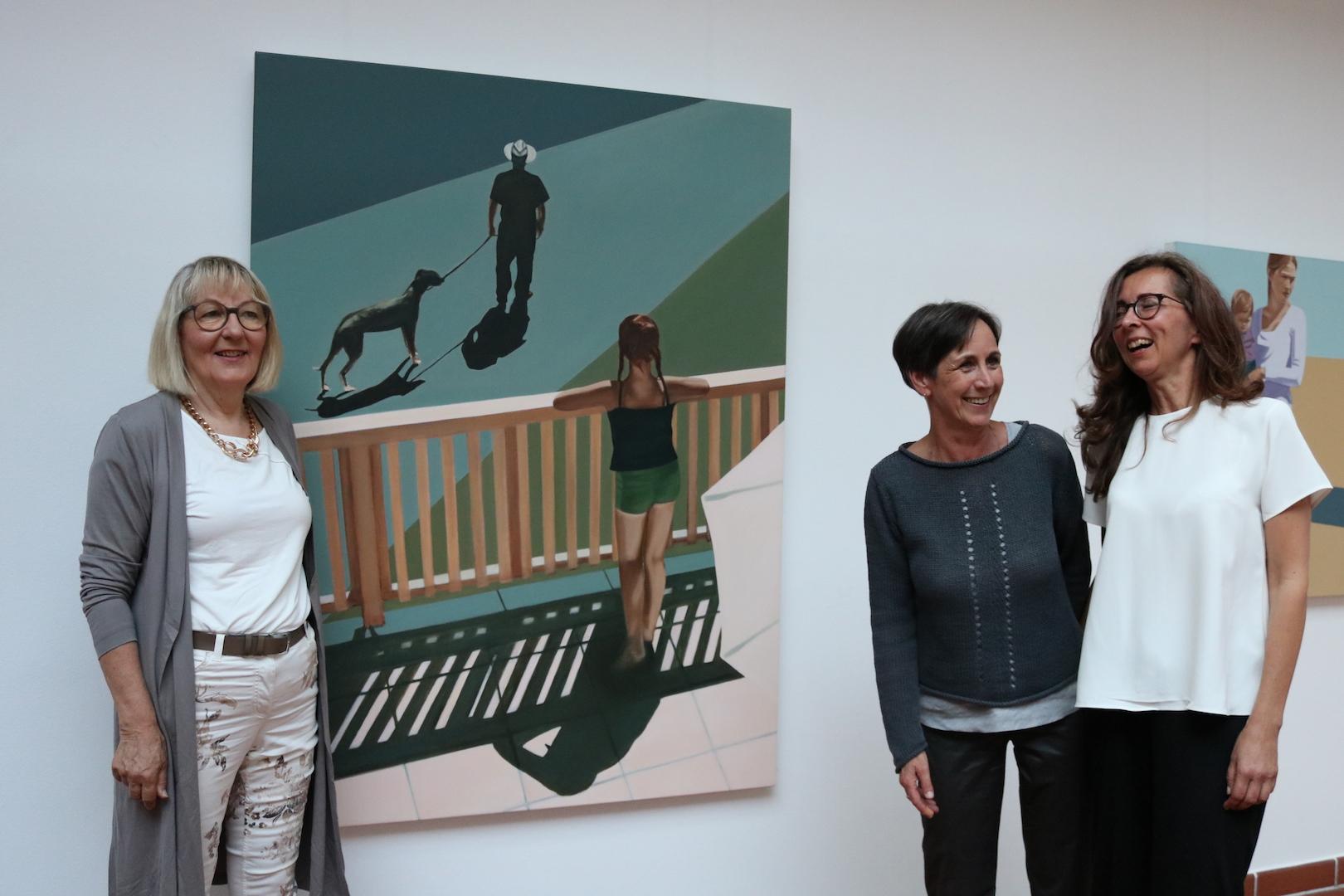 Ruth Bussmann / Fotos der Vernissage