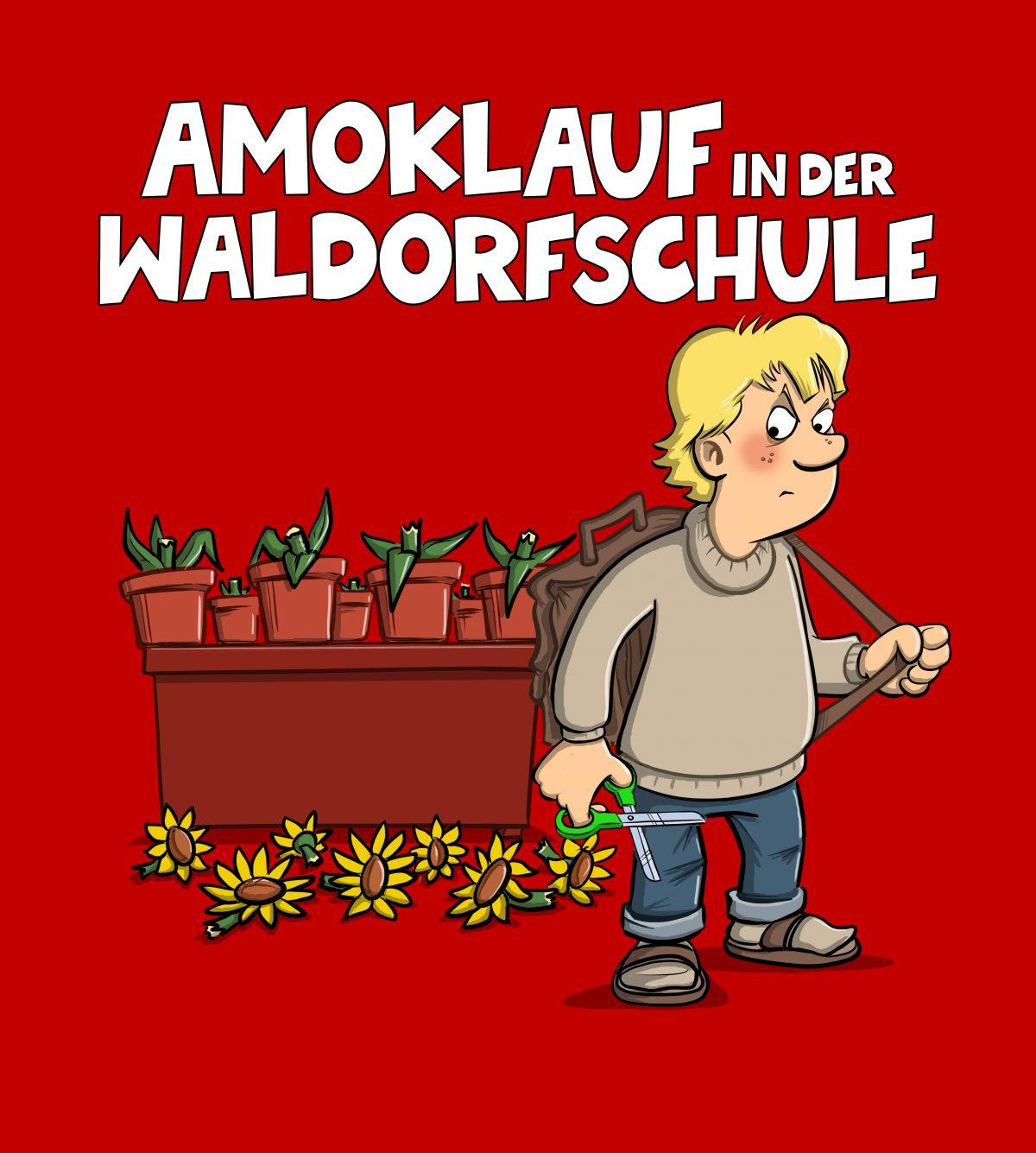 31.01.-17.04.2020 / Michael Holtschulte / Amoklauf in der Waldorfschule / Caricatura